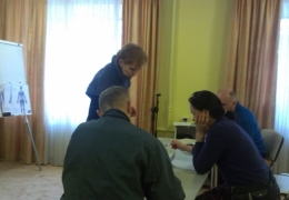 Участники обучающего курса массажа гуаша в марте 2015года.